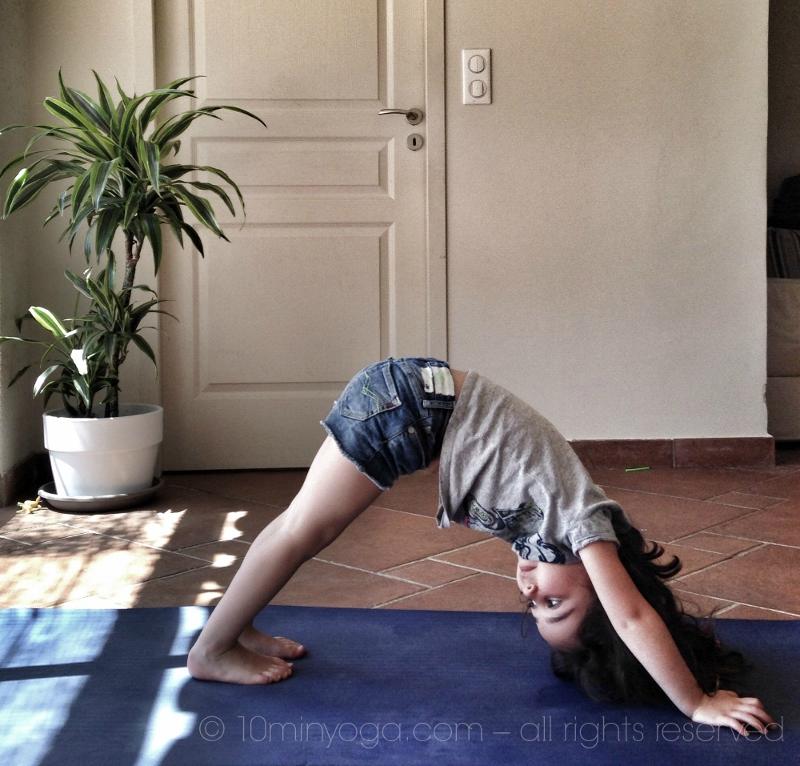 Cours yoga enfants Le Plan de la Tour